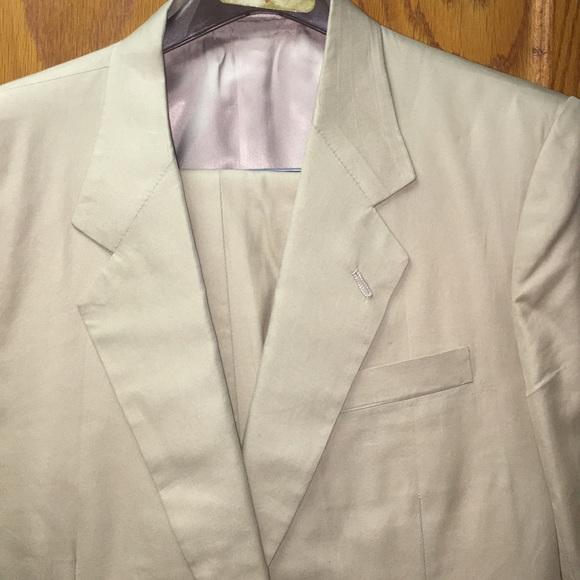 Shanghai Tang Other - Shanghi Custom Tailors Khaki Suit